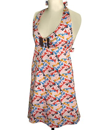 Flutter Empire-Waist Apron - Women