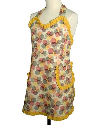 Kaleidoscope Ruffle Apron - Girls