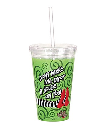 Green 'Drop a House' Tumbler