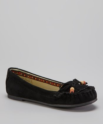 Black Bow Moccasin
