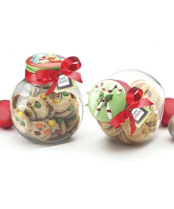 Holiday Space Saver Jar Set