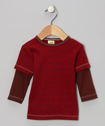 Ruby Diamond Organic Layered Tee - Infant, Toddler & Kids