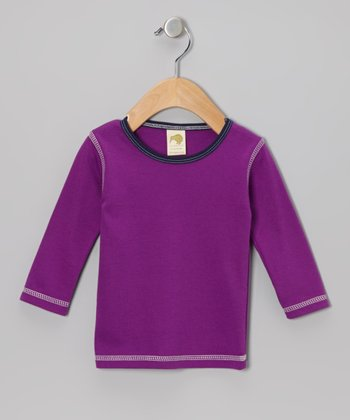 Violet Organic Tee - Infant, Toddler & Kids