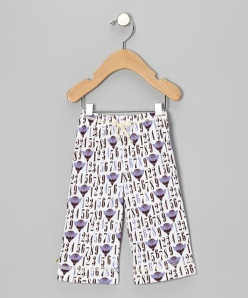 Purple Count von Count Organic Pants - Infant