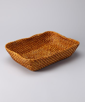Caribbean Rectangle Basket