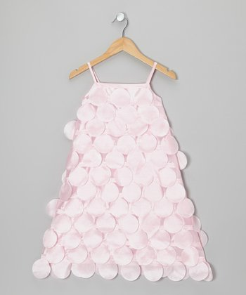 Pink Circle Cutout Dress - Infant, Toddler & Girls