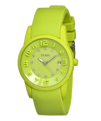 Lime Beam Watch - Unisex