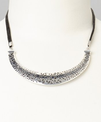 Antique Silver Bib Necklace