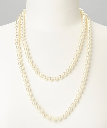 Ivory Faux Pearl Necklace