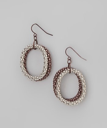 Gold & Silver Loop Earrings