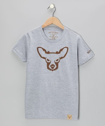 Gray Buck Tee - Kids