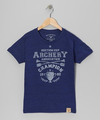 Blue 'Suction Cup Champion' Tee - Toddler & Kids