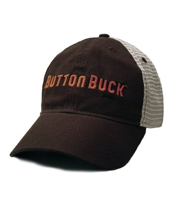 Brown & Orange Trucker Hat