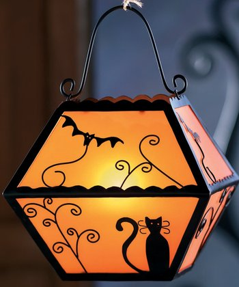 Orange Hallows' Eve Vintage Lantern