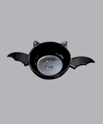 Black Bat Dip Bowl & Spreader Set