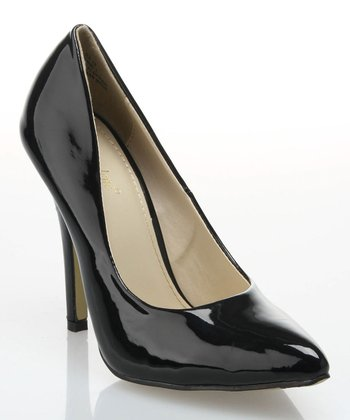 Black Patent Pump