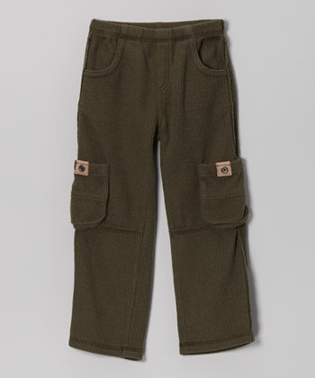 Moss Corduroy Cargo Pants - Infant