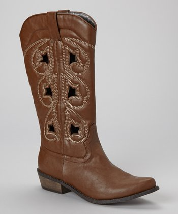 Brown Denco 2 Cowboy Boot
