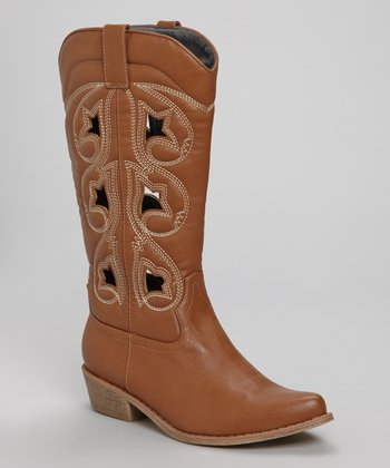 Tan Denco 2 Cowboy Boot