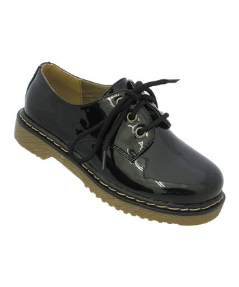 Black Patent Welma Oxford