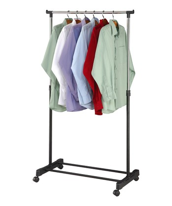 Black & Silver Garment Rack