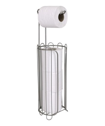 Nickel Toilet Paper Holder/Dispenser