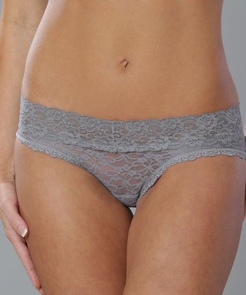 Medium Gray Lace Hipster