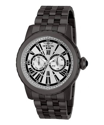 Black Specialty Quartz Chronograph Watch - Men
