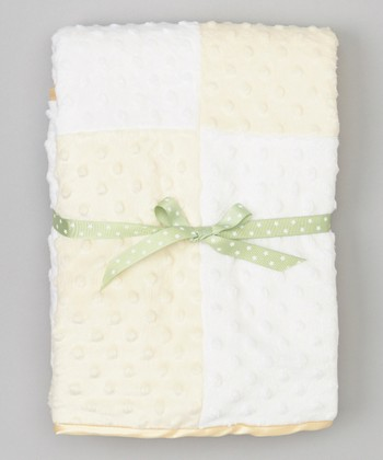Ivory & White Swiss Dot Blanket