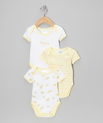 Yellow Bodysuit Set