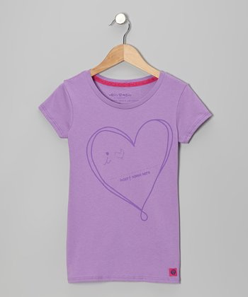 Violet Love 'Insert Name Here' Tee - Girls