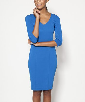 Royal Jones V-Neck Dress - Women