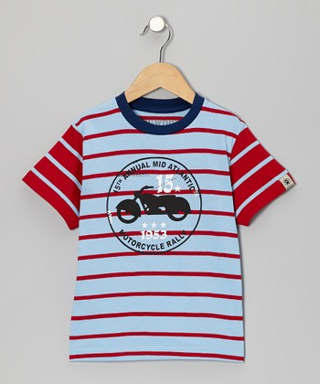 Sky Moto Rally Tee - Toddler & Kids