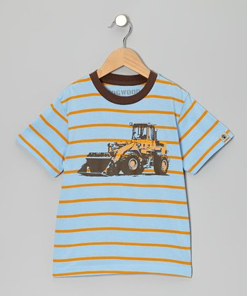 Sky Bulldozer Tee - Toddler & Boys
