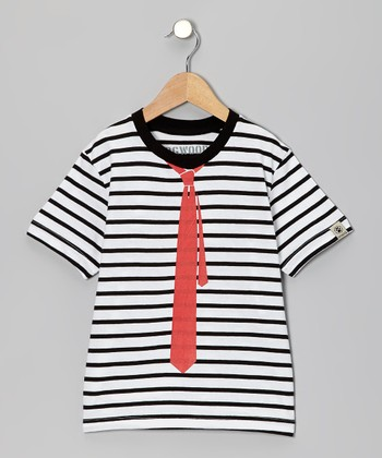 Black Tie Tee - Toddler & Boys