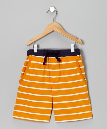 Orange Kick Around Shorts - Toddler & Boys