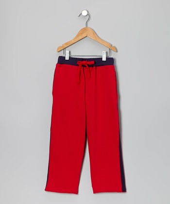 Red Team Sweatpants - Toddler & Boys