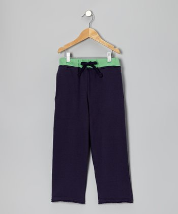 Navy Team Sweatpants - Toddler & Boys