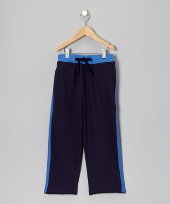 Navy Athletic Sweatpants - Toddler & Boys