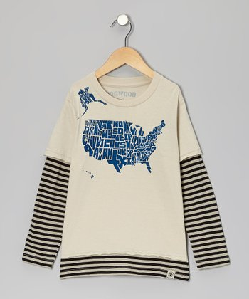 Stone 50 States Layered Tee - Infant, Toddler & Boys