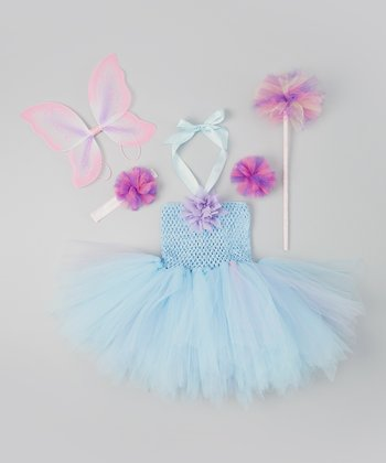 Light Blue & Lavender Tutu Dress Set - Infant & Toddler
