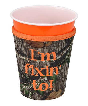 Occasionally Made 'I'm Fixin' To' Cup Cozy