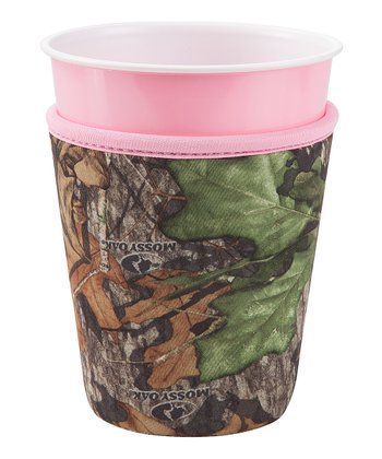 Occasionally Made Pink & Mossy Oak Cozy