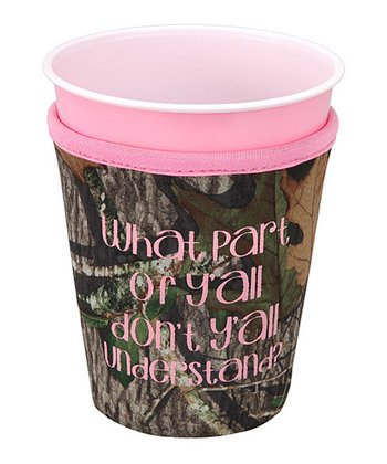 Occasionally Made 'What Part of Y'all' Cup Cozy