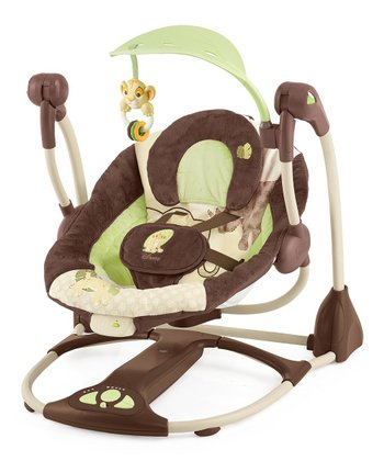 Brown & Lime Disney's Lion King Portable Swing