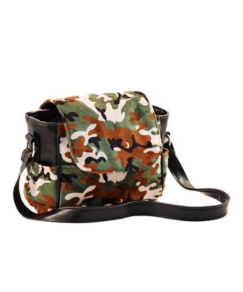 Camo Minky Small Diaper Bag