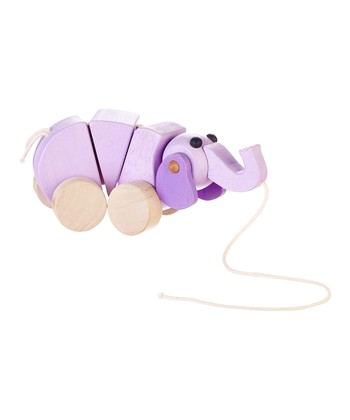 Ellie the Elephant Pull Toy