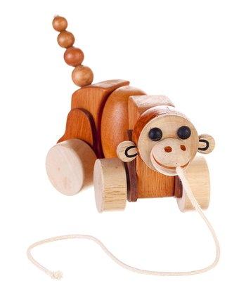 Max the Monkey Pull Toy