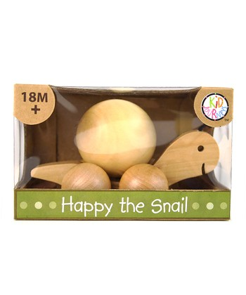 Happy the Snail Pull Toy