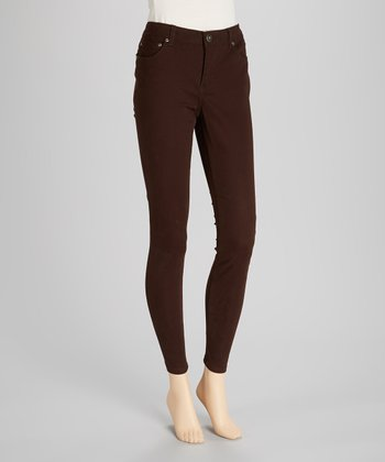 Brown Jeggings